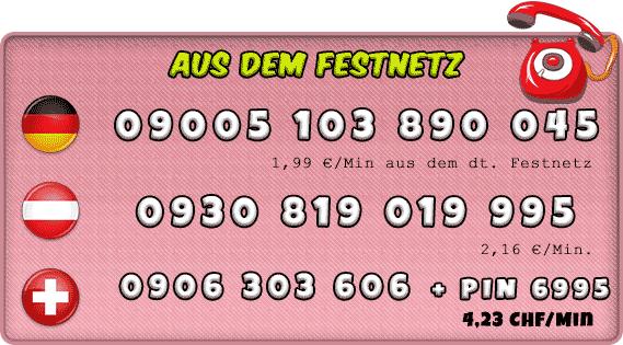 0900er Nummern für Telefonsex mit Transen