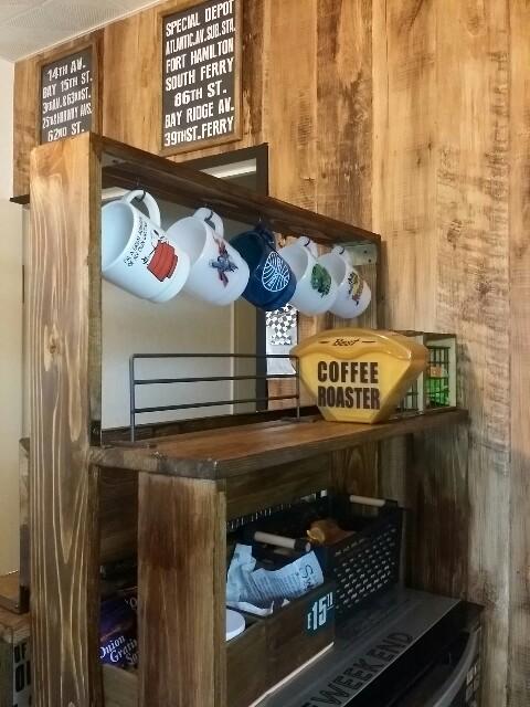 マグカップの見せる収納の作り方