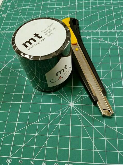 DIYするマスキングテープCASA