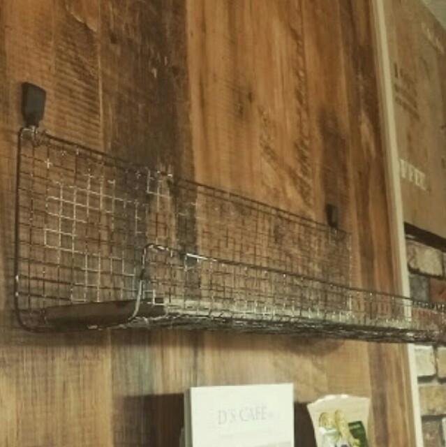焼き網リメイク飾り棚