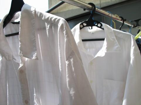 洗濯シャツ衣類
