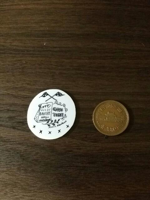10円とセリアのプラバンで縮み具合を検証