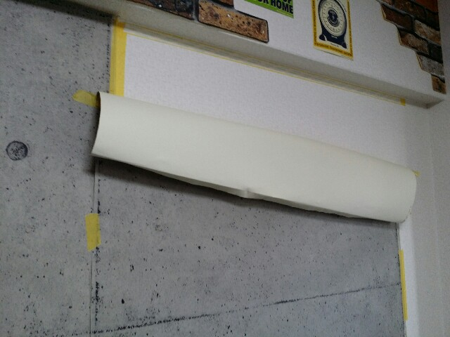 コンクリート壁紙で賃貸リメイクする方法