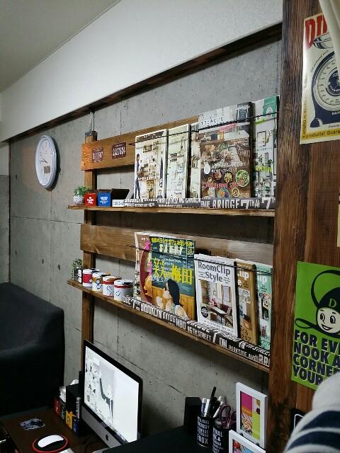 ディアウォールやラブリコで作る本棚