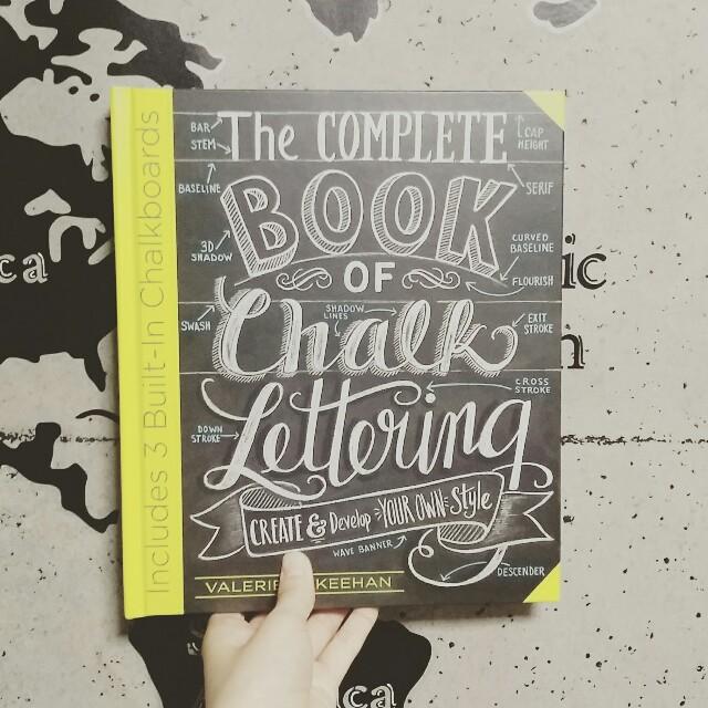 レタリングの書き方の本