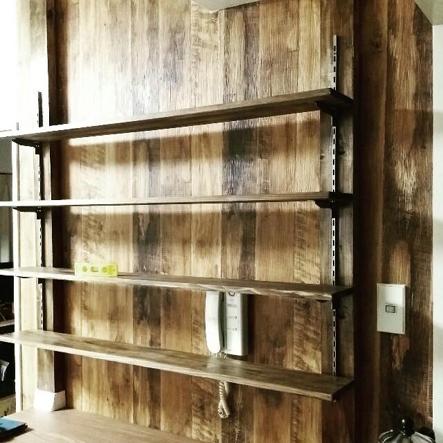 ディアウォール棚と本棚を賃貸DIYで作る