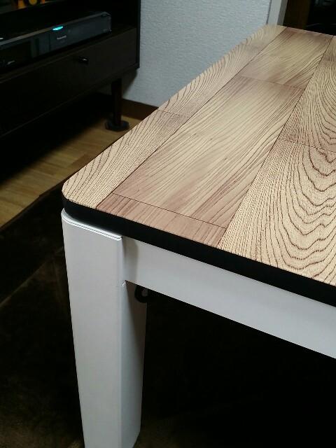 テーブル天板のリフォーム