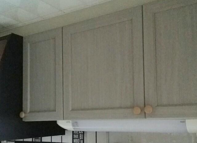 収納棚の扉DIY