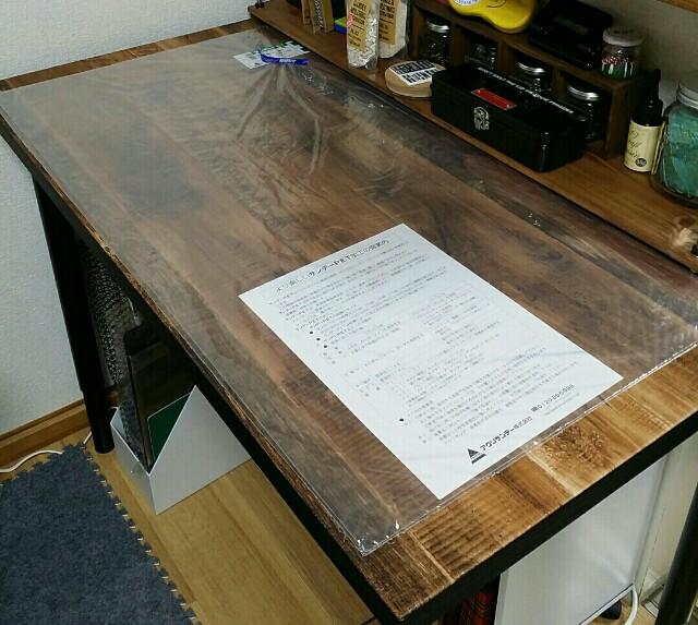 テーブル壁紙リメイク保護のプラスチック板