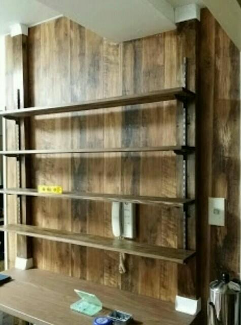 ディアウォールDIYで作った棚