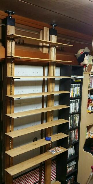 ラブリコでDIYした本棚