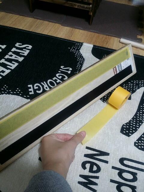 原状回復の両面テープの貼り方