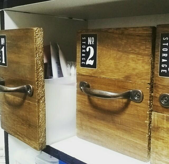セリアの収納ボックスで見せる収納