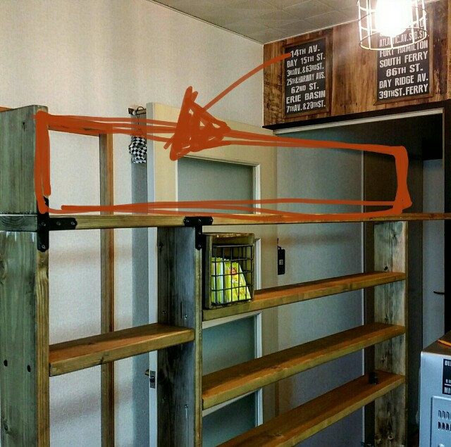 SPF材での収納棚の作り方