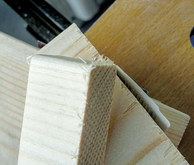 木材カットで出来るバリ