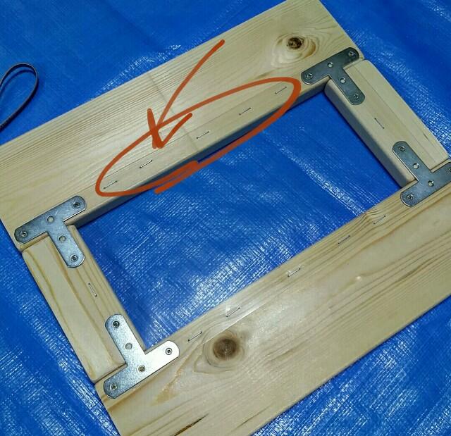 レンジ小窓の作り方
