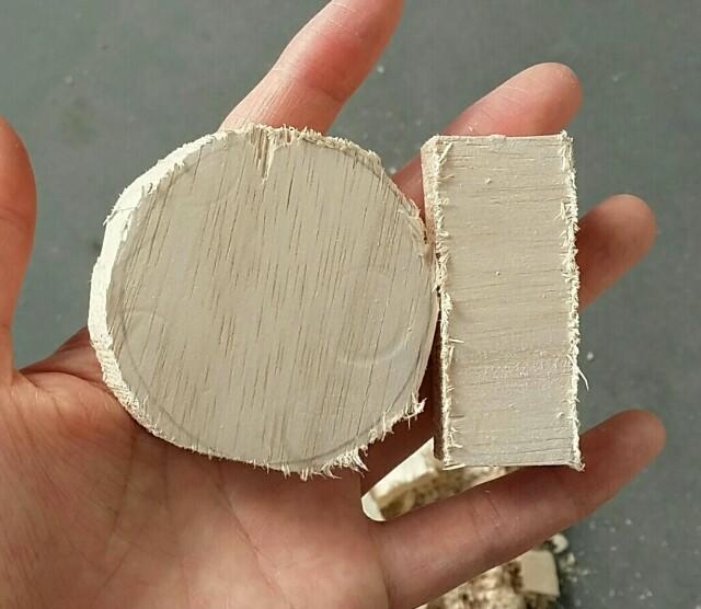 手作りコンロスイッチのパーツ作り