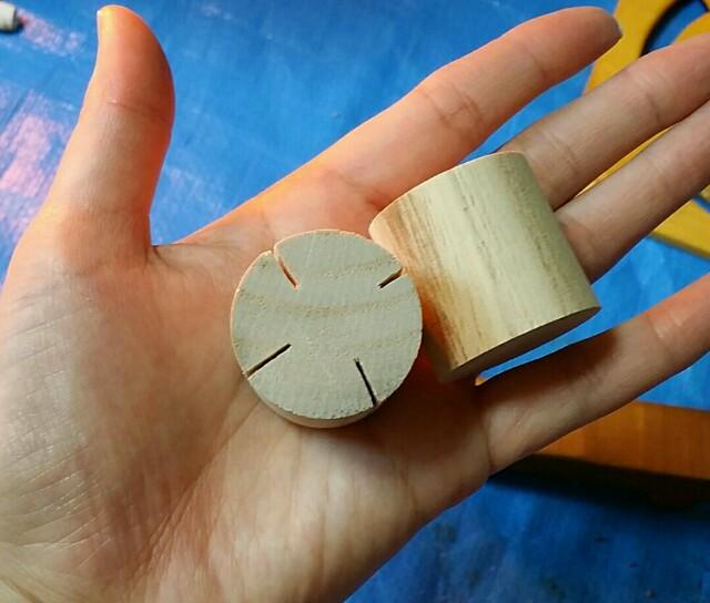 カチカチ鳴るスイッチパーツの作り方