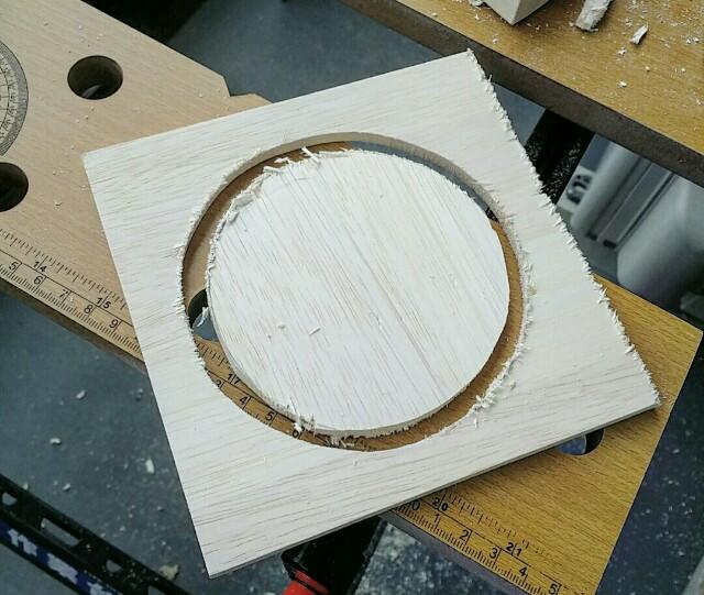 木で作る木製コンロ