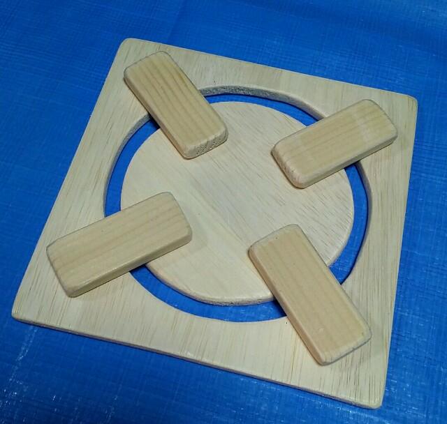 木製コンロを手作りする