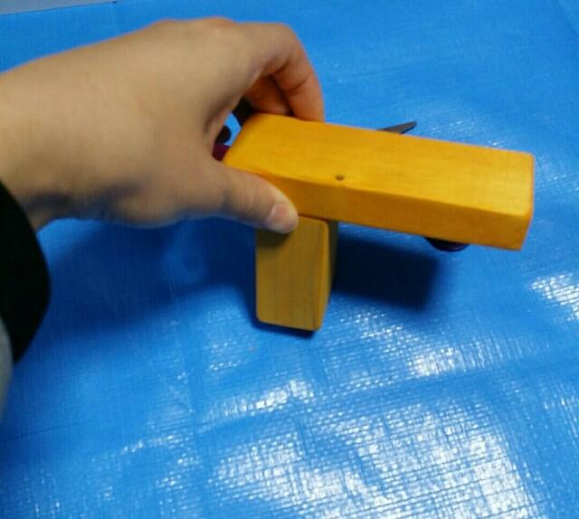 木製蛇口の作り方