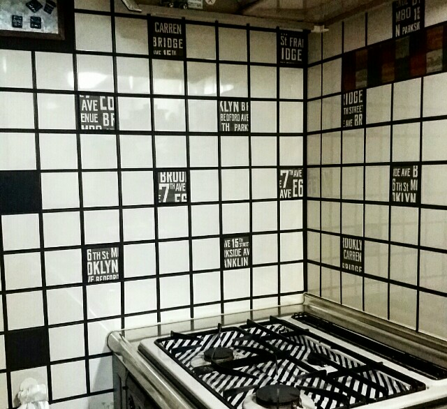 賃貸のキッチンをブルックリンにリノベーションDIY