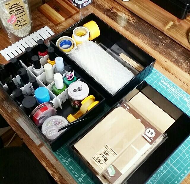 100均DIYで小物を整理整頓