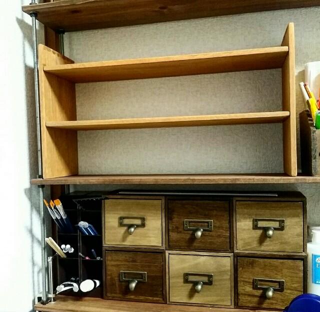 セリアリメイクで作った100均DIY棚