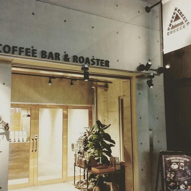 大阪カフェで人気の堀江のThecoffeecoffeecoffee