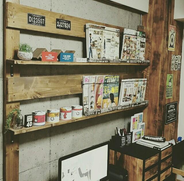 ディアウォール棚の本棚