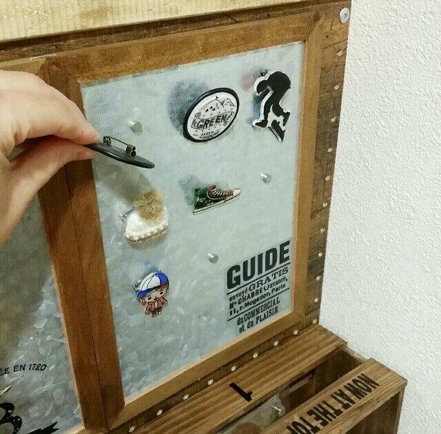 100均DIYでアクセサリー収納を作る
