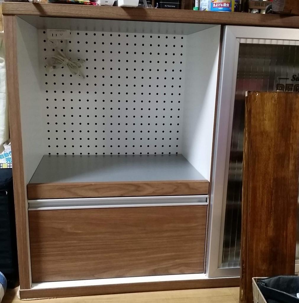食器棚の収納作り