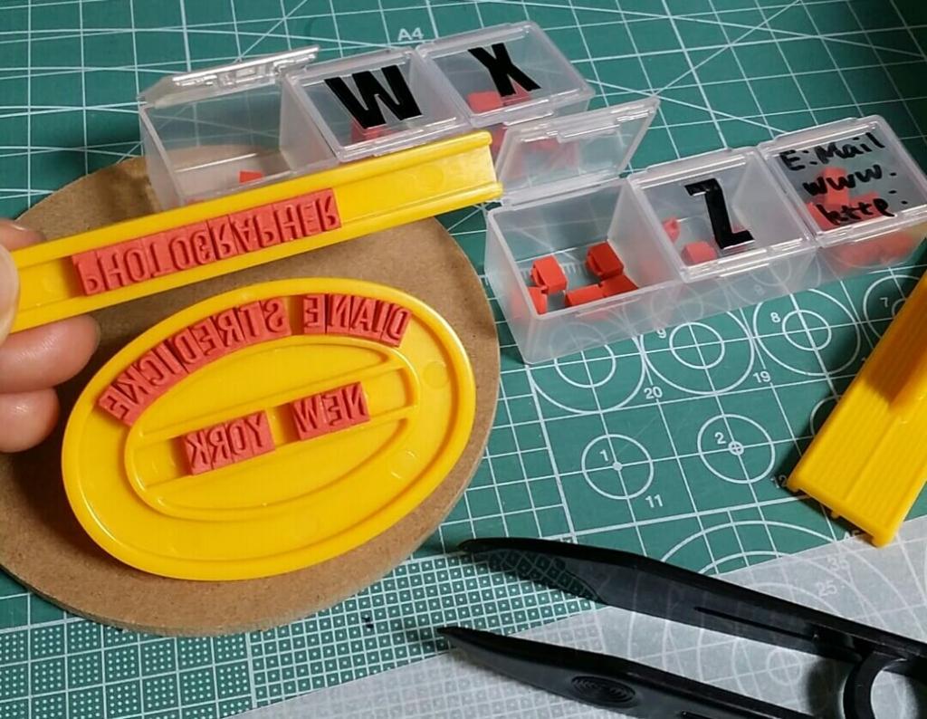 スタンプキットで手作りスタンプを作る簡単な方法