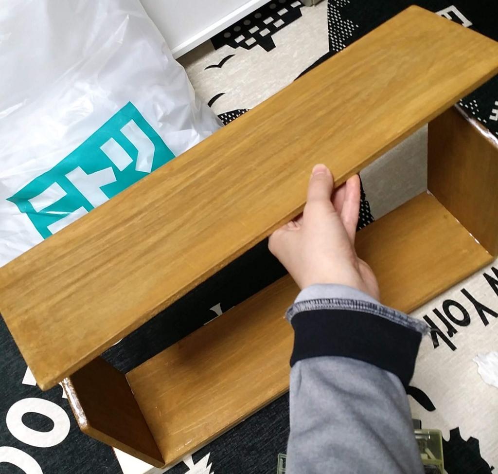 100均で木箱を作る