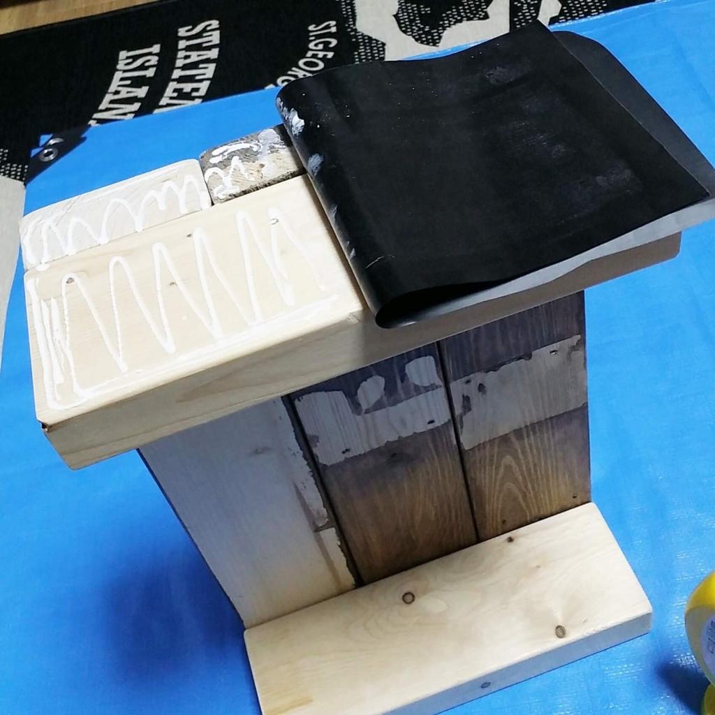 黒板シートの貼り方