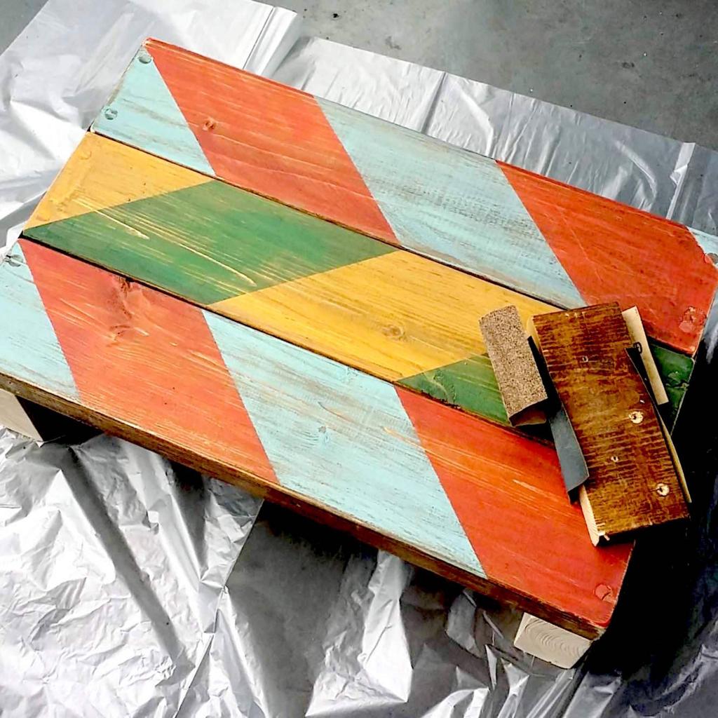 DIYでジャンク風やシャビーな感じを出す塗装方法