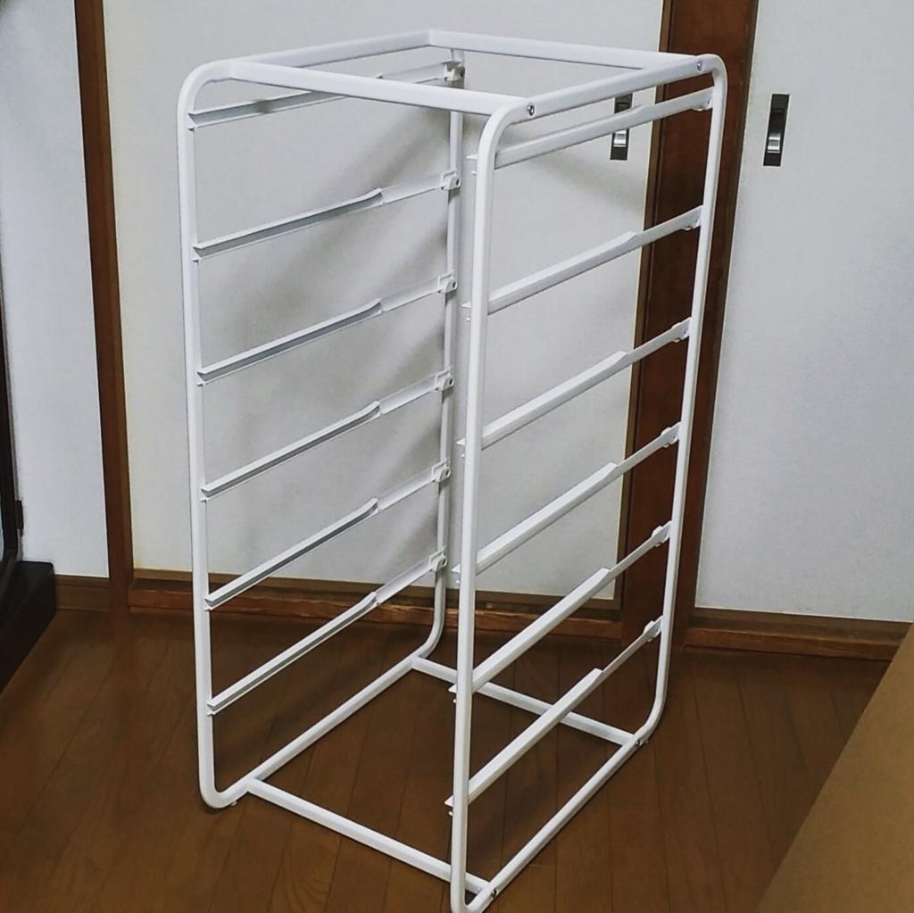 IKEAの衣類収納に便利なアルゴート引き出しフレーム