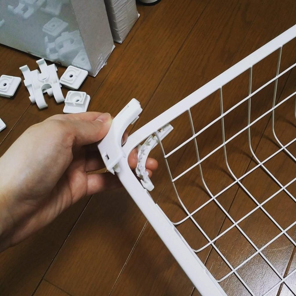 IKEAのワイヤーバスケットの引き出し