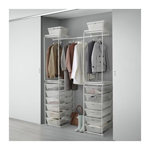 IKEAのアルゴートで衣類収納