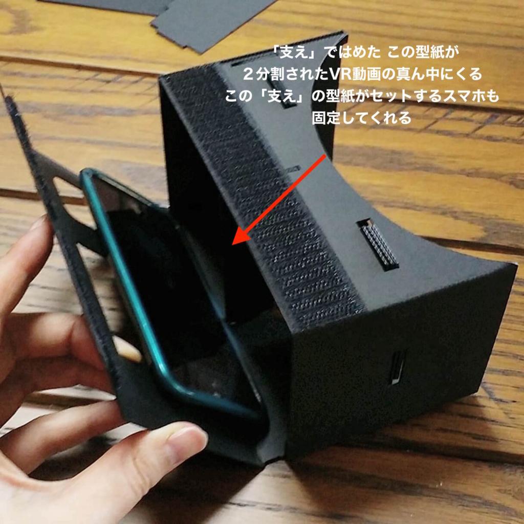 グーグルカードボードの自作VRゴーグルの使い方