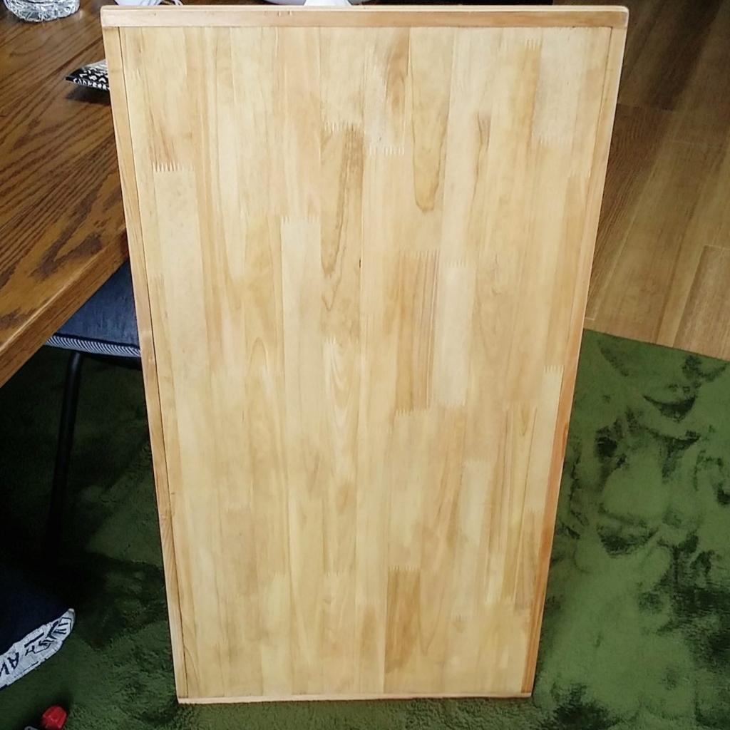 天板に木枠を作る