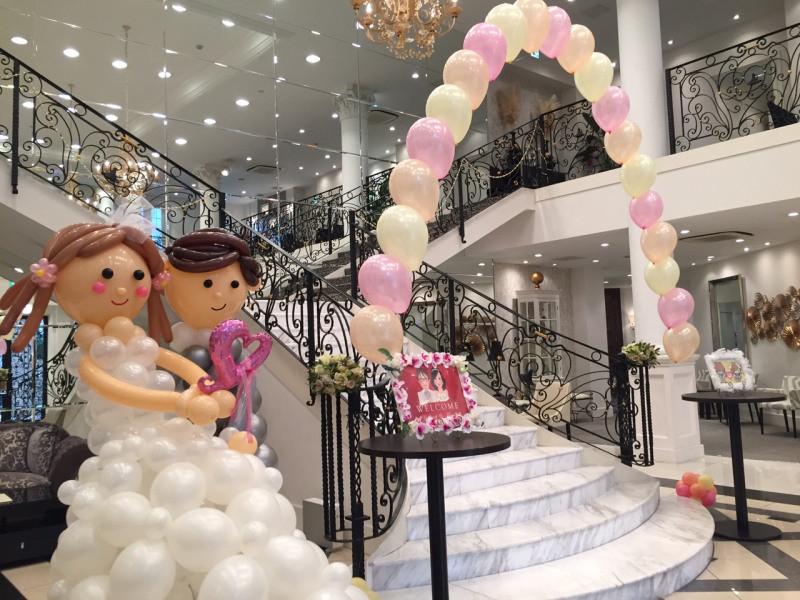 結婚式の装飾