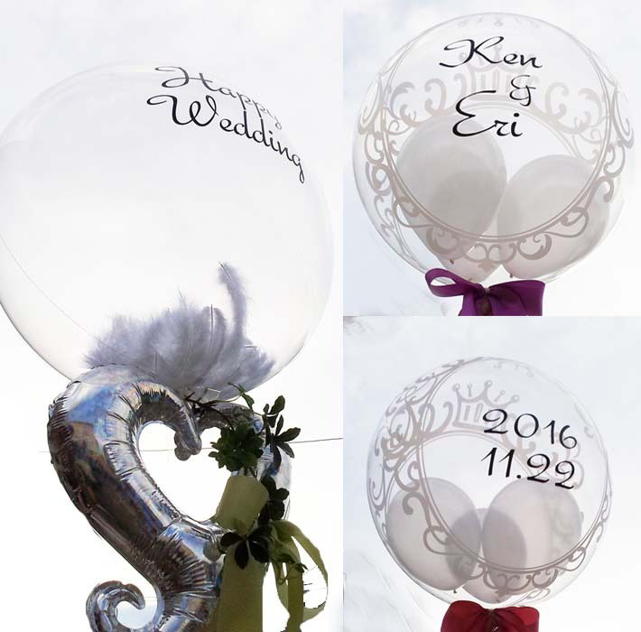 結婚式かわいい装飾バルーン