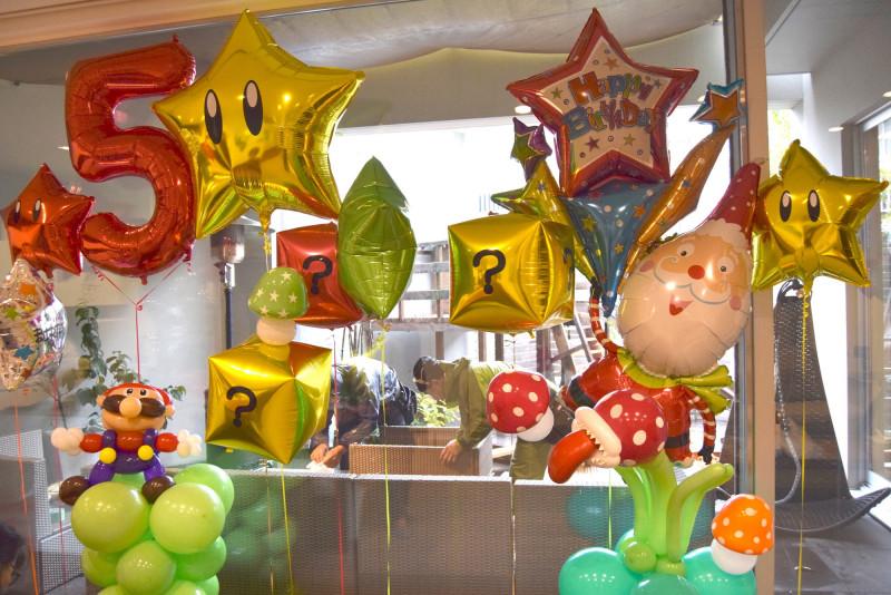 男の子誕生日パーティー
