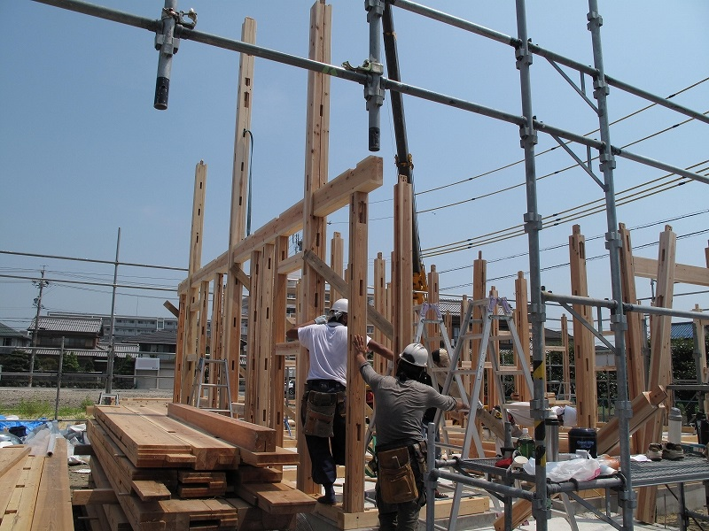 erection of framing_1