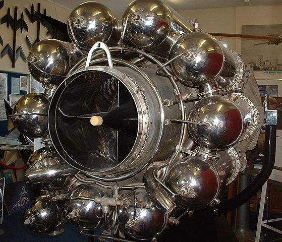 Whittle-Jet-Engine