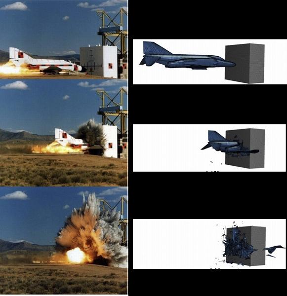 Target-concrete-wall-impact-analysis