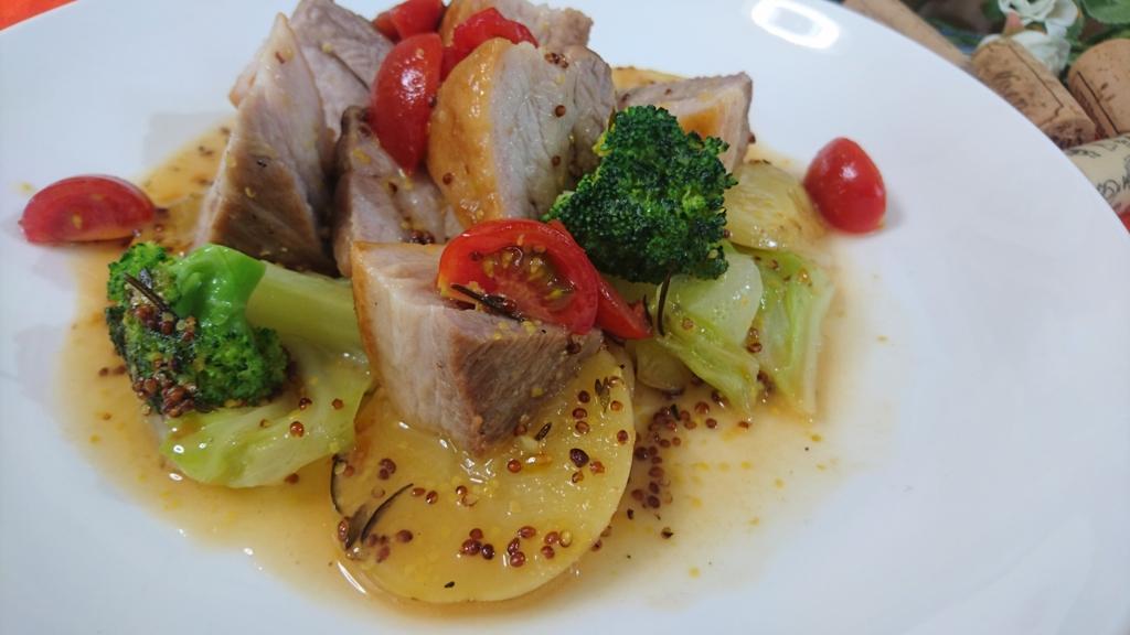 白ワイン蒸し 豚肉レシピ