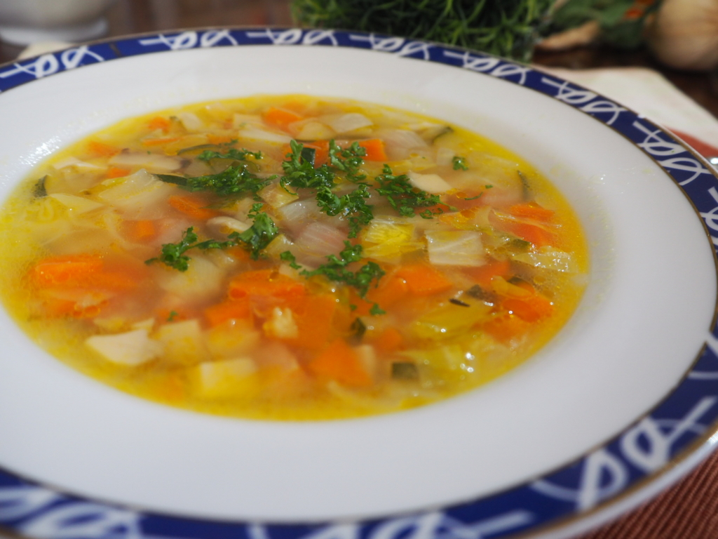 野菜スープ 野菜たっぷりスープ 野菜具だくさんスープ
