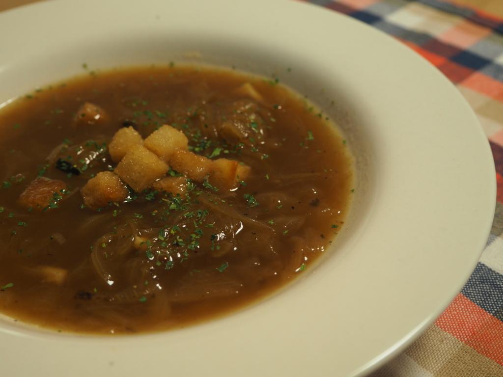クルトン オニオンスープ スープ